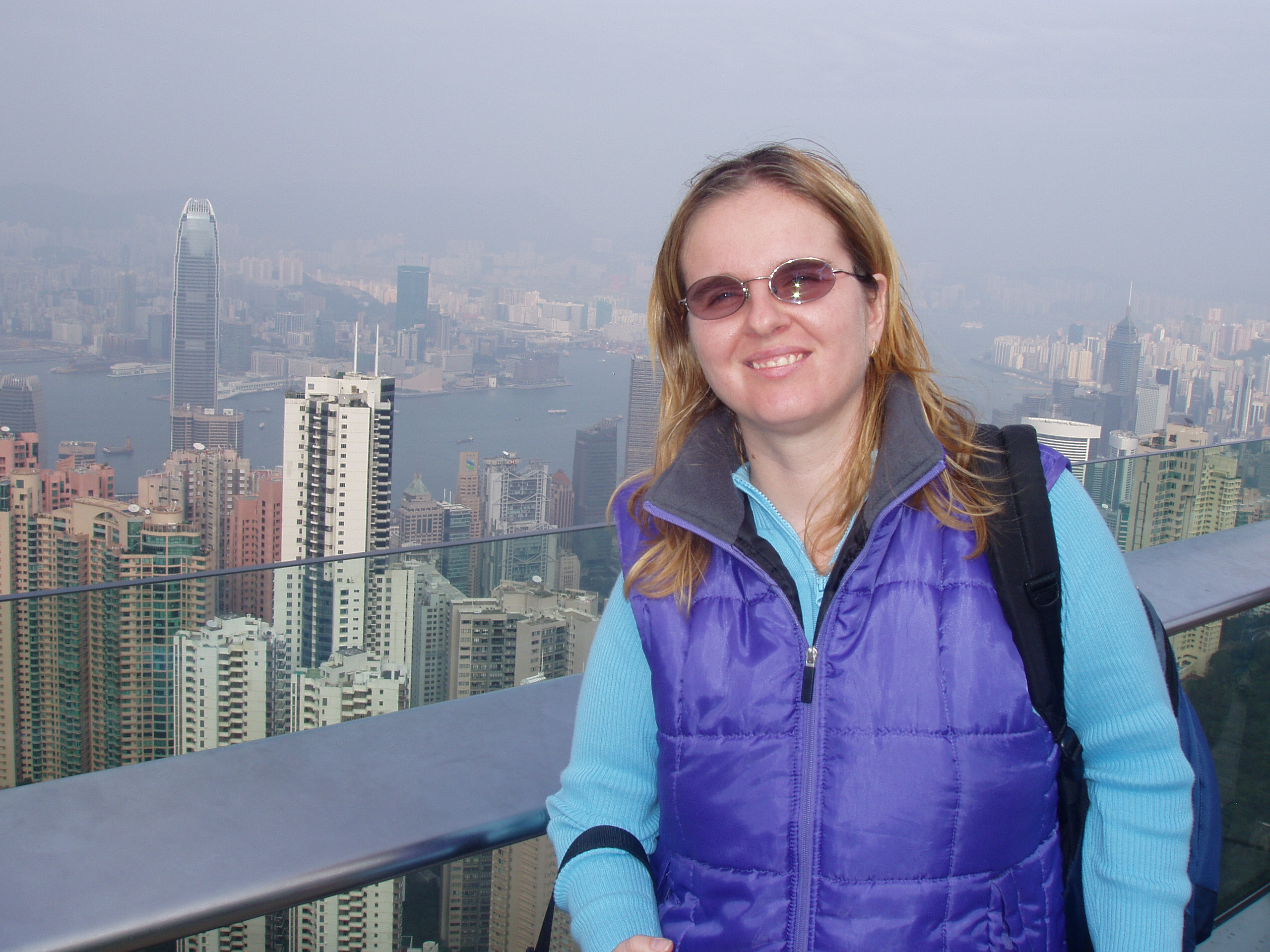 Hong Kong; view from Victoria Peak
