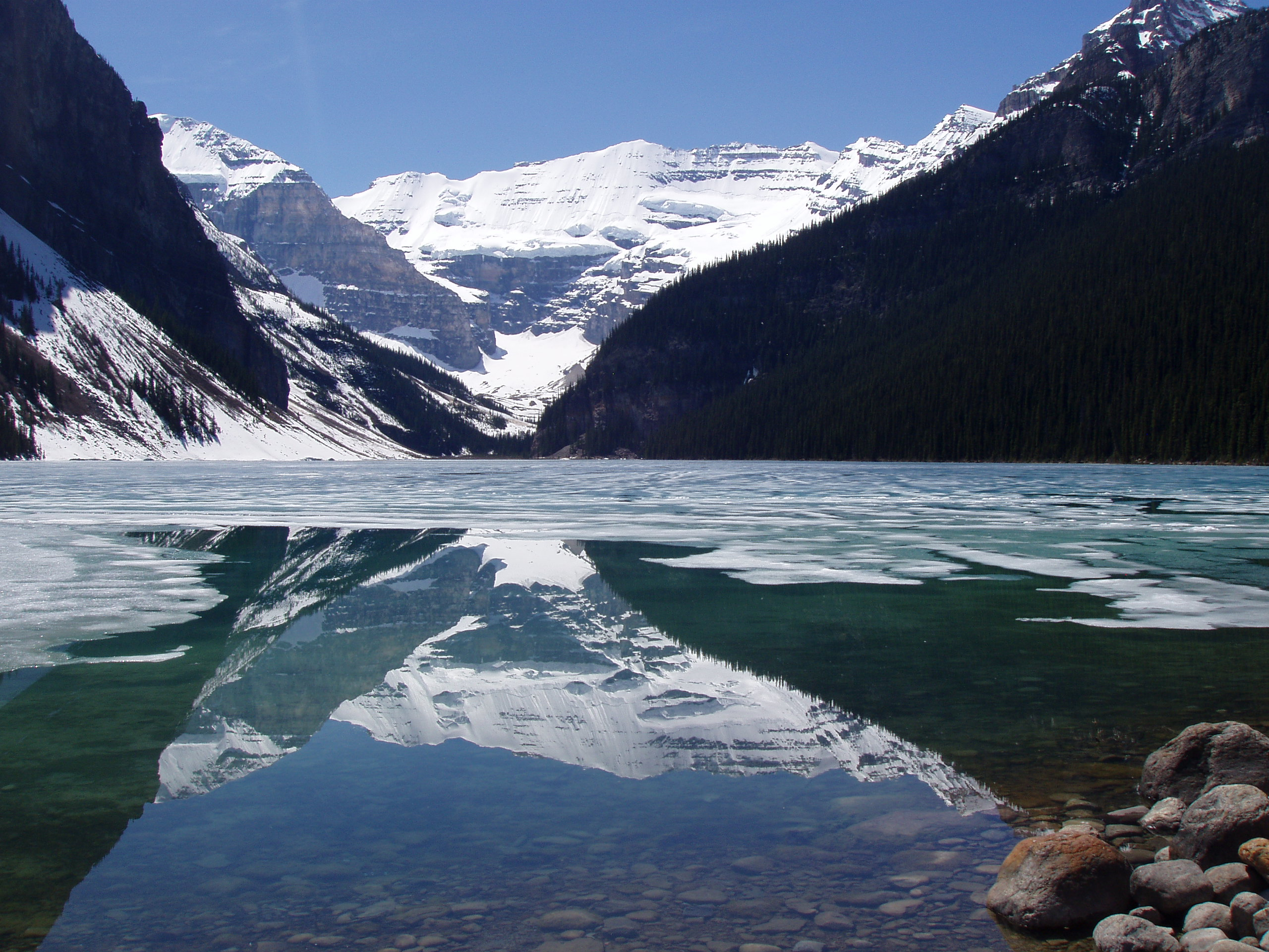 Lake Louise, Banff National Park, Canada; the most beautiful place on Earth